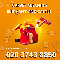 Elephant and Castle dining room carpet cleaning SE1