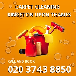 Kingston upon Thames dining room carpet cleaning KT2
