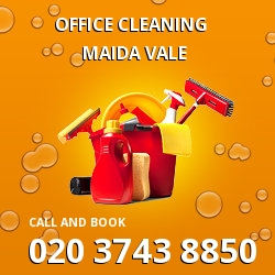 W9 commercial cleaning prices Maida Vale