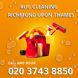 Richmond upon Thames carpeted floor cleaning TW10