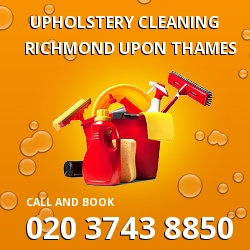 TW9 fabrics cleaning services Richmond upon Thames