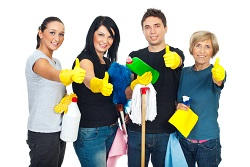 Office Cleaning Team in London