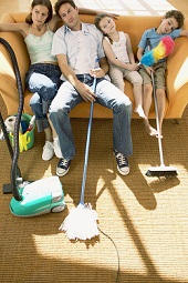 Carpet and Furniture Cleaners